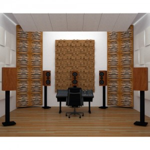 Vicoustic Wave Wood Acoustic Panels Set Of 10