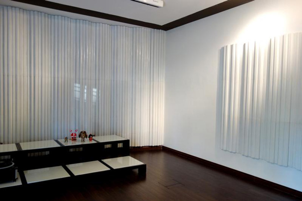 Fractal Sound Diffusers in Listening Room Built  by Hai Trieu