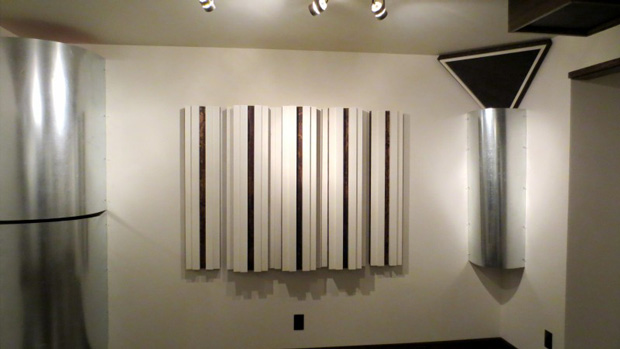 DIY Sound Diffusers & Acoustic Treatments (built by WhiteConstructionDesign.com)