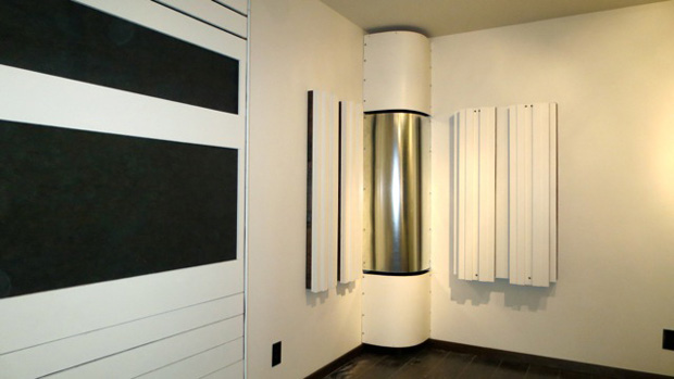 Acoustic Treatments & DIY Diffusers (built by WhiteConstructionDesign.com)