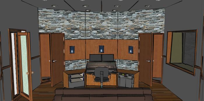 Excellent Eco Recording Studio Design Arqen Largest Home Design Picture Inspirations Pitcheantrous
