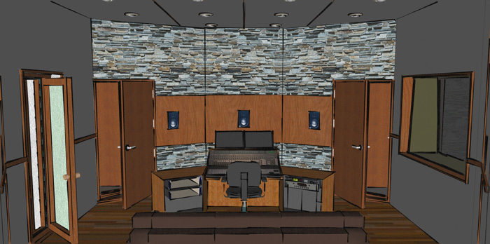 Pleasing Eco Recording Studio Design Arqen Largest Home Design Picture Inspirations Pitcheantrous