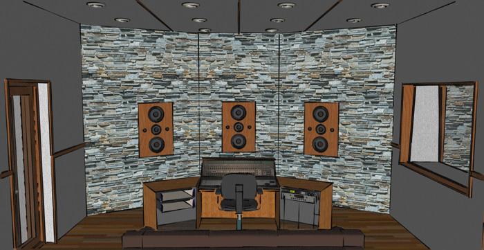 Stupendous Recording Studio Design Service The Dream Studio Blueprint Largest Home Design Picture Inspirations Pitcheantrous