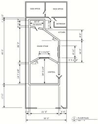 Brilliant Recording Studio Design Service The Dream Studio Blueprint Largest Home Design Picture Inspirations Pitcheantrous