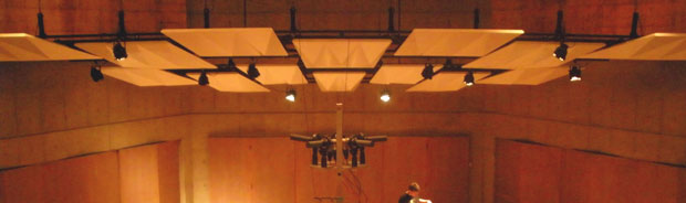 Surround Sound Mic Array in Recital Hall